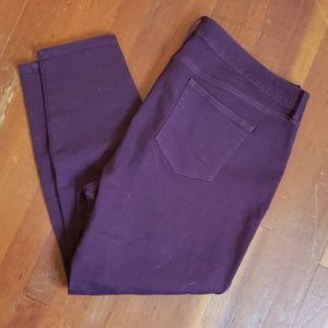 Denim - Purple Jeans